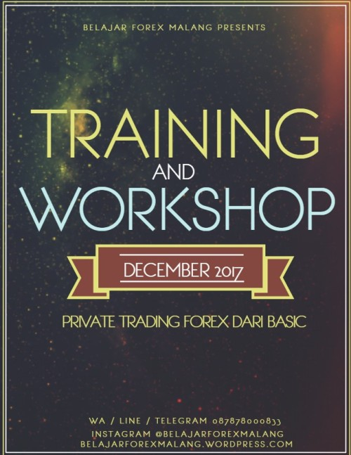 Training Forex 2017, Workshop Forex 2017, Privat Forex 2017